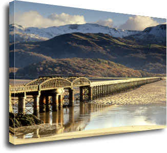 Railway Bridge Barmouth photographed by Andrew McCartney.