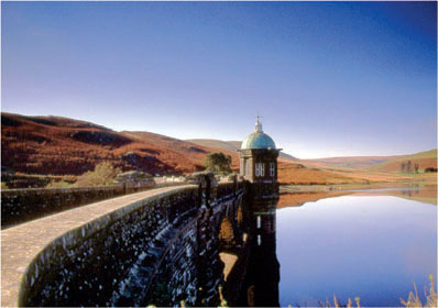 Craiggoc Dam Elan Valley by Andrew McCartney.