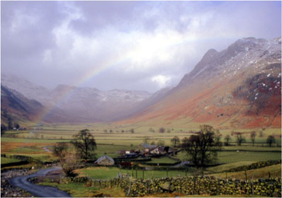 Pike of Stickle Lake District photographed by Andrew McCartney.