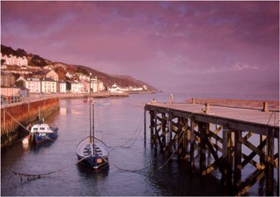 Pier at Aberdovey photographed by Andrew McCartney.